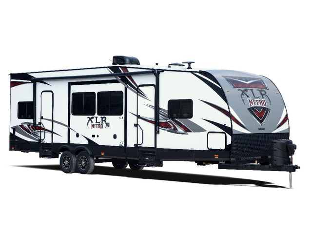 Custom Build & Price A Nitro Toy Hauler (Travel Trailer) by Forest River