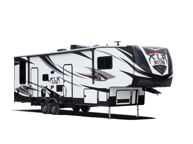 Custom Build & Price A Nitro Toy Hauler (Fifth Wheel) by Forest River