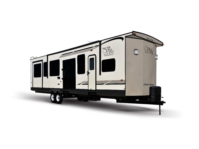 Custom Build & Price A Salem Villa Estate Park Trailer by Forest River