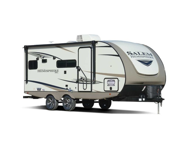 Custom Build & Price A Hemisphere Hyper Lyte Travel Trailer by Forest River