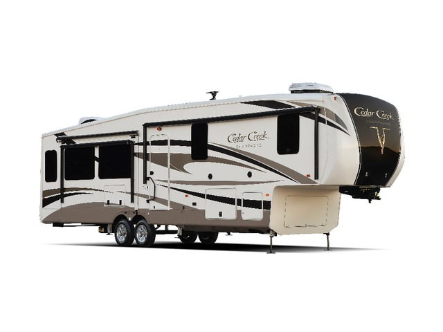 Custom Build & Price A Cedar Creek Champagne Fifth Wheel by Forest River