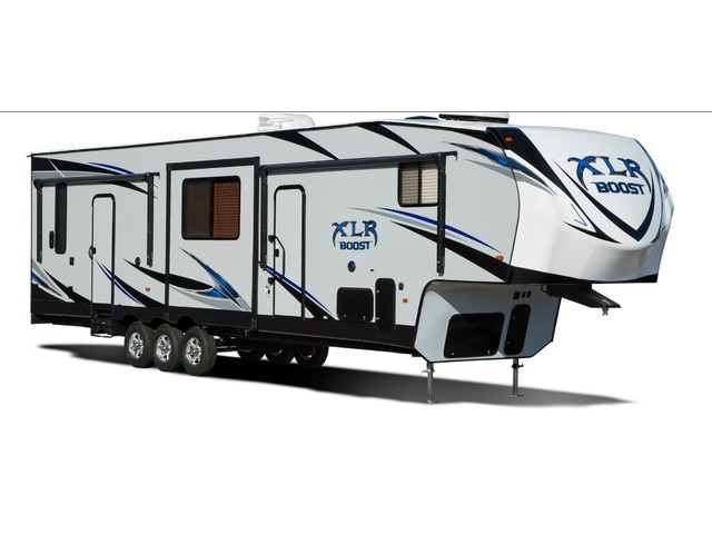 Custom Build & Price A XLR Boost Toy Hauler (Fifth Wheel) by Forest River