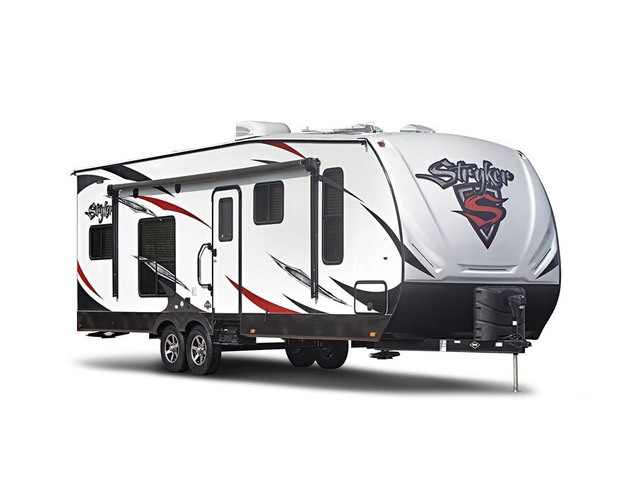 Custom Build & Price A Stryker Toy Hauler (Travel Trailer) by Cruiser RV