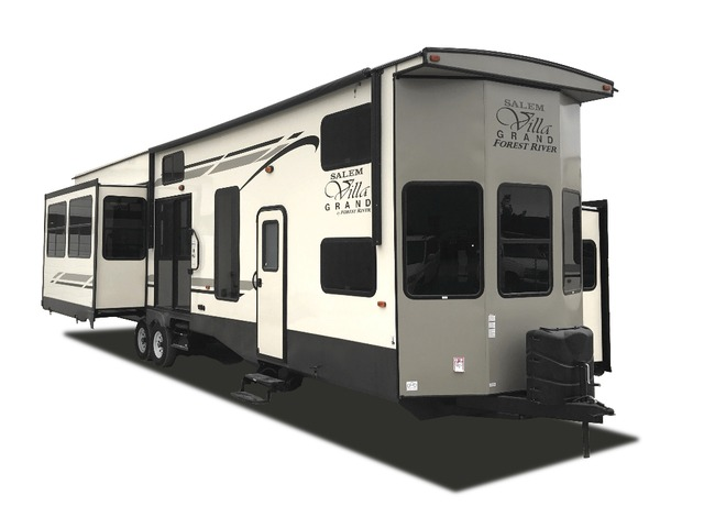 Custom Build & Price A Salem Grand Villa Park Trailer by Forest River