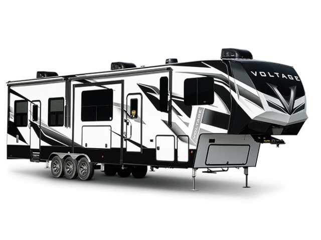 Custom Build & Price A Voltage Toy Hauler (Fifth Wheel) by Dutchmen
