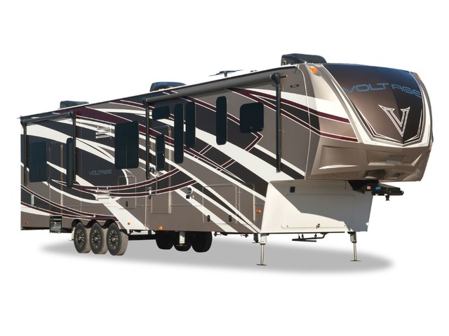 Custom Build & Price A Voltage Epic Toy Hauler (Fifth Wheel) by Dutchmen