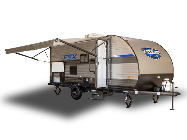 Custom Build & Price A Salem FSX Toy Hauler (Travel Trailer) by Forest River