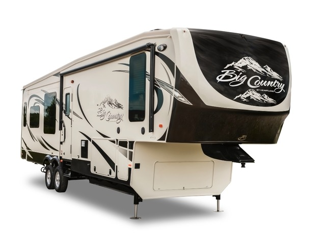 Custom Build & Price A Big Country Fifth Wheel by Heartland