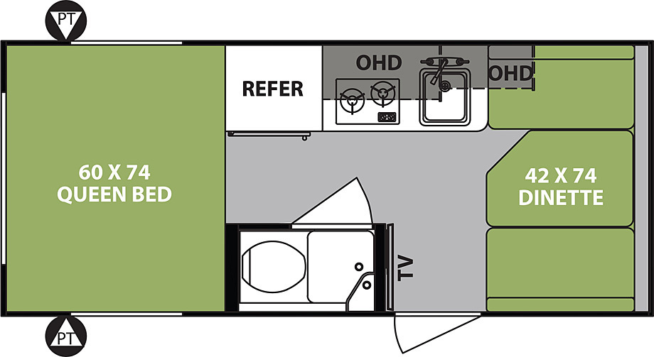 R-Pod 171 Travel Trailers by Forest River - Build & Price on