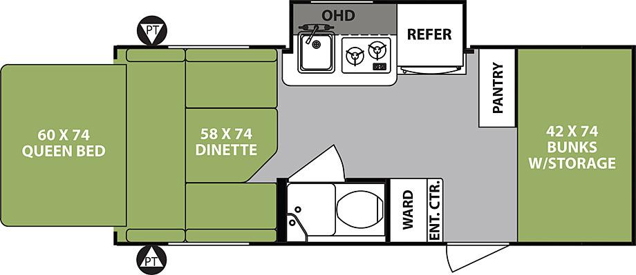 p1cd53gol81r051fqr1rcu1bnopqh5 r pod 176t hybrid campers by forest river build & price