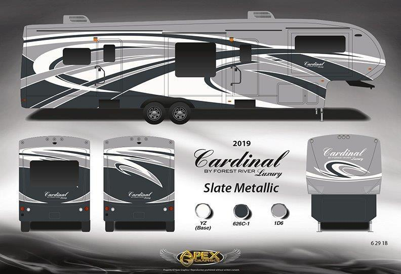 Cardinal Luxury 335rlx Fifth Wheels By Forest River Build Amp Price